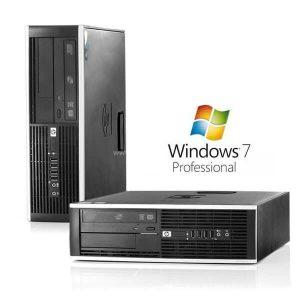 Calculatoare refurbished Hp Compaq 6000Pro Dual Core E5200/2GB DDR3/250GB/DVD-RW cu Windows 7 Home