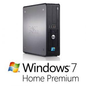 Calculator cu licenta Dell Optiplex 780Sff, E7500 2.93Ghz, 2GB, 160GB+Windows 7 Home