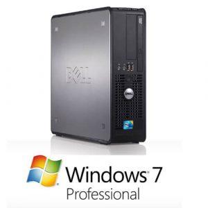 Calculator cu licenta Dell Optiplex 780Sff, E7500 2.93Ghz, 2GB, 160GB+Windows 7 Pro