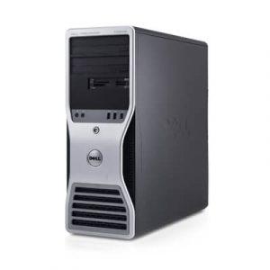 Statie grafica Dell Precision T5500 Xeon X5650 Hexa Core, 16GB ddr3, 2x300GB SAS, Quadro FX4500
