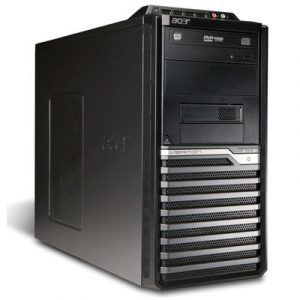 Calculatoare second hand Acer Veriton M480G Tower Core 2 Duo E8400 3.0GHz, 2GB ddr3, 160GB