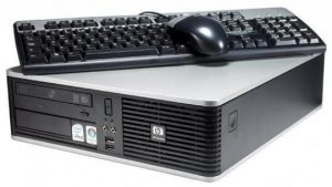 Calculator second HP Compaq DC7800 Sff, E8400, 2Gb ddr2, 160Gb, Dvd-rw