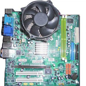 Kit placă de bază Acer Socket 775 + procesor Dual Core E2160