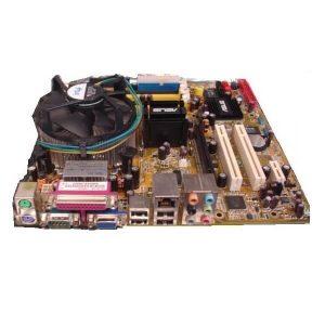 Kit placă de bază Socket 775 + procesor Core2Duo E8400 3.0GHz